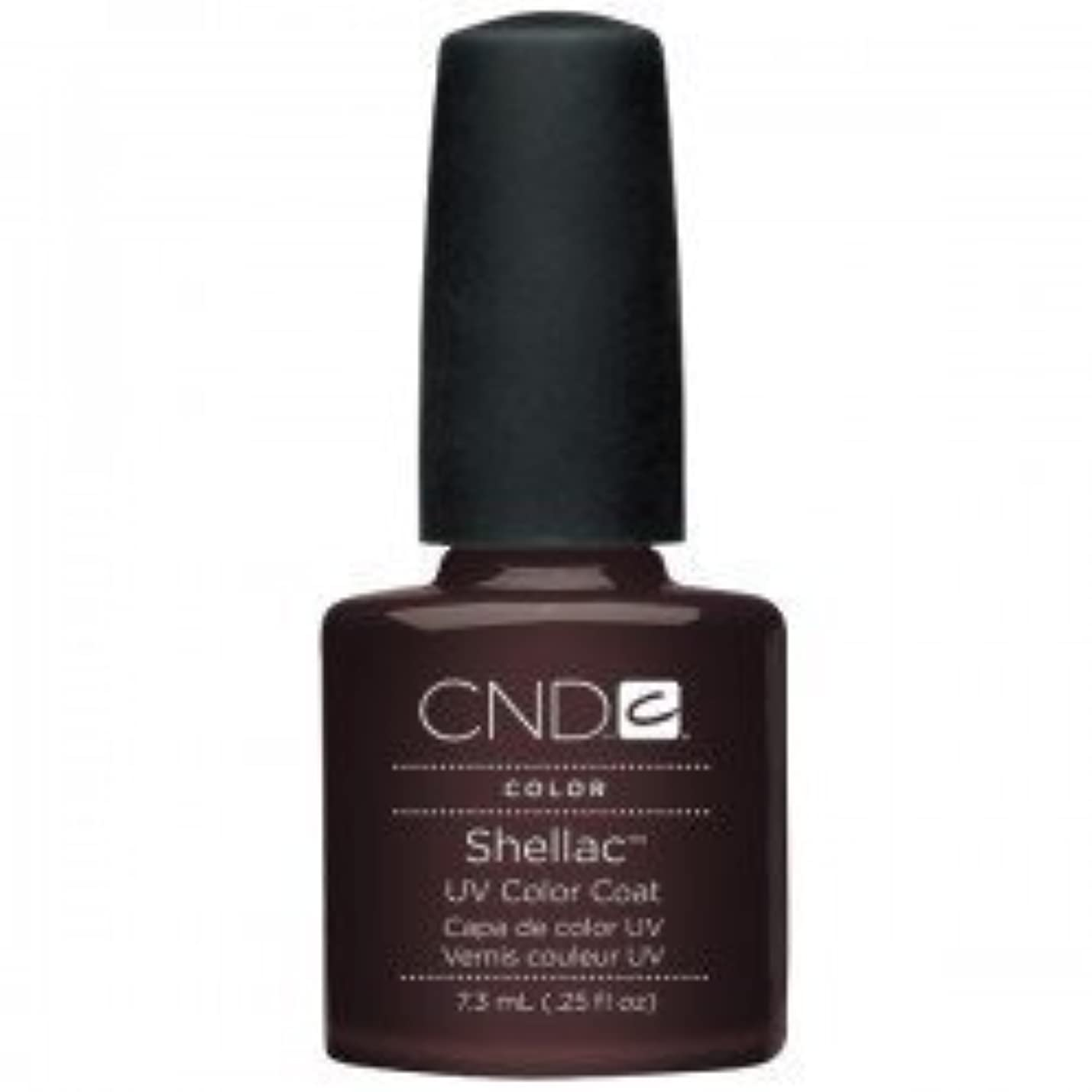 お互い社員抜け目がないNew CND Creative Shellac UV3 Nail Power Polish - Fedora 7.3ml by CND Creative Nail Designs