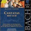 Sacred Cantatas Bwv 43-45 by J.S. Bach (2013-05-03)