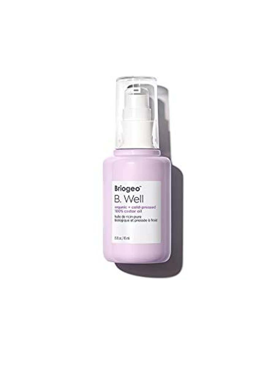 酔うラバ神社ブリオジオ B. Well Organic + Cold-Pressed 100% Castor Oil (For Hair, Brows, Lashes, and Skin) 45ml/1.5oz並行輸入品