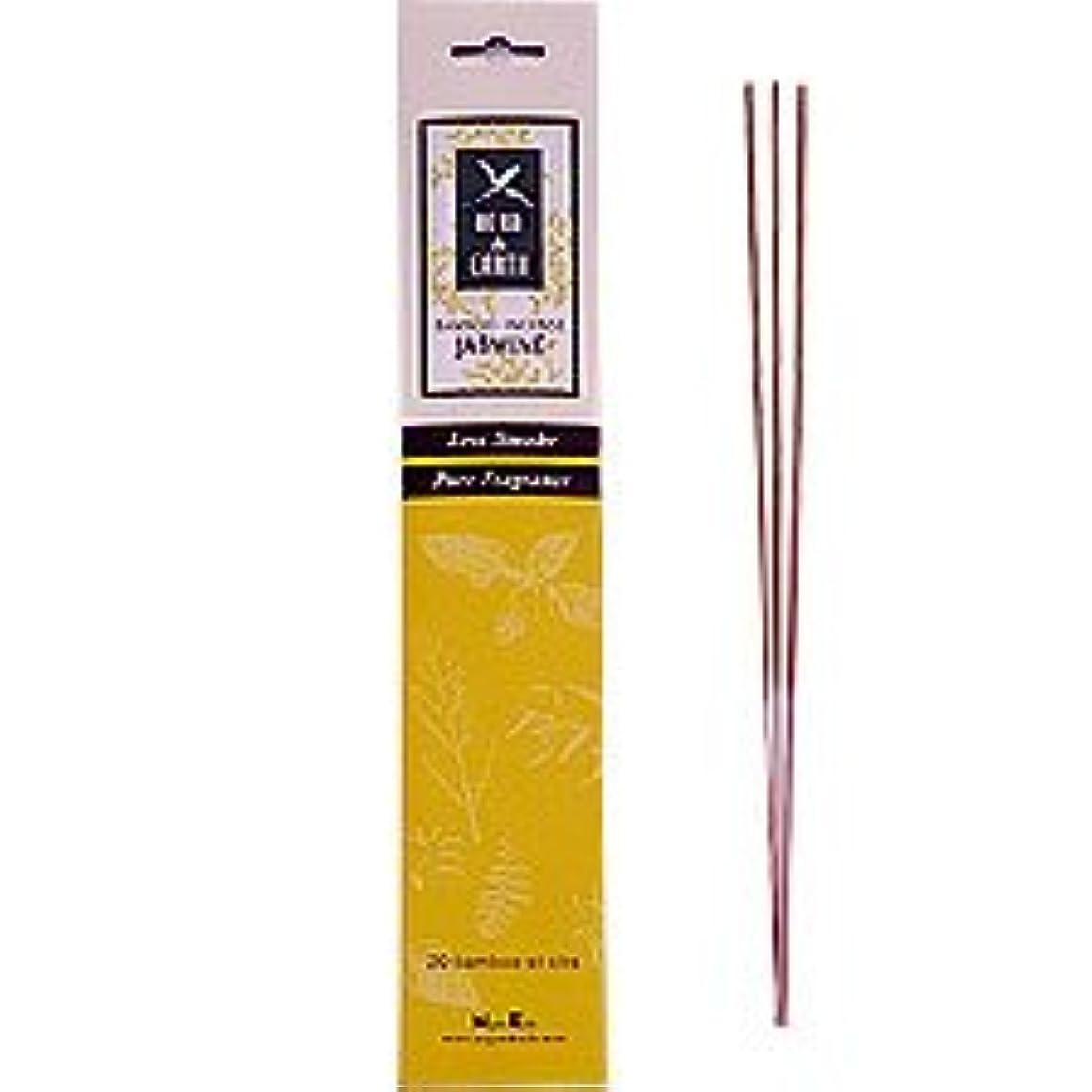 マントル霧使用法ジャスミン – Herb and Earth IncenseからNippon Kodo – 20スティックパッケージ
