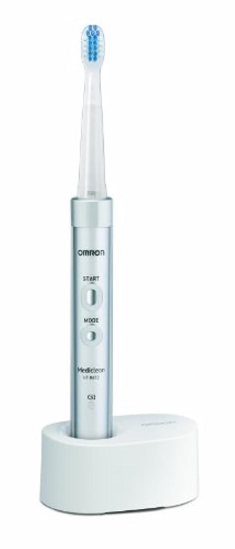 航海の警告成分オムロン 音波式電動歯ブラシ メディクリーン HT-B472