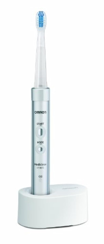 合体止まるアクセントオムロン 音波式電動歯ブラシ メディクリーン HT-B472