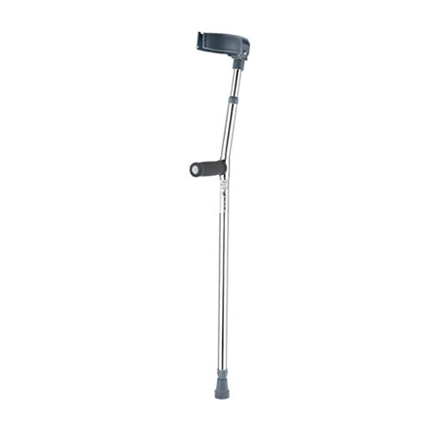 リベラル布空白前腕の松葉杖の援助、軽量の歩行の援助、調節可能なアルミニウム松葉杖、非スリップの軽量の耐久財 Gray/Single