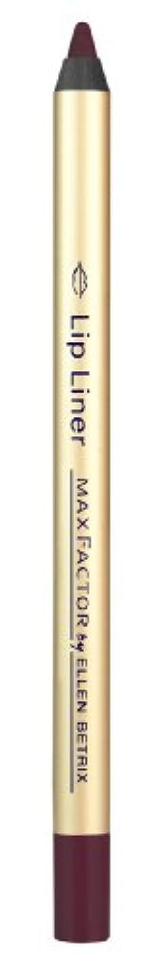 パニック教授振動するMax Factor Lip Liner, 018 plum