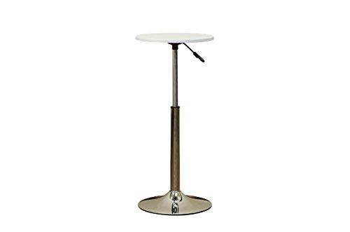 昇降式バーテーブル・40cm HT-13 ホワイト