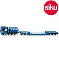 <ボーネルンド> Siku(ジク)社 輸入ミニカー 3931 4車軸トラック重量物運搬トレーラー付 1/50