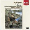 シベリウス:交響曲第4番&第7番