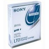 Sony ltx-clデータテープLTOクリーニングカートリッジ(Sony ltx-cl- 50-pass)