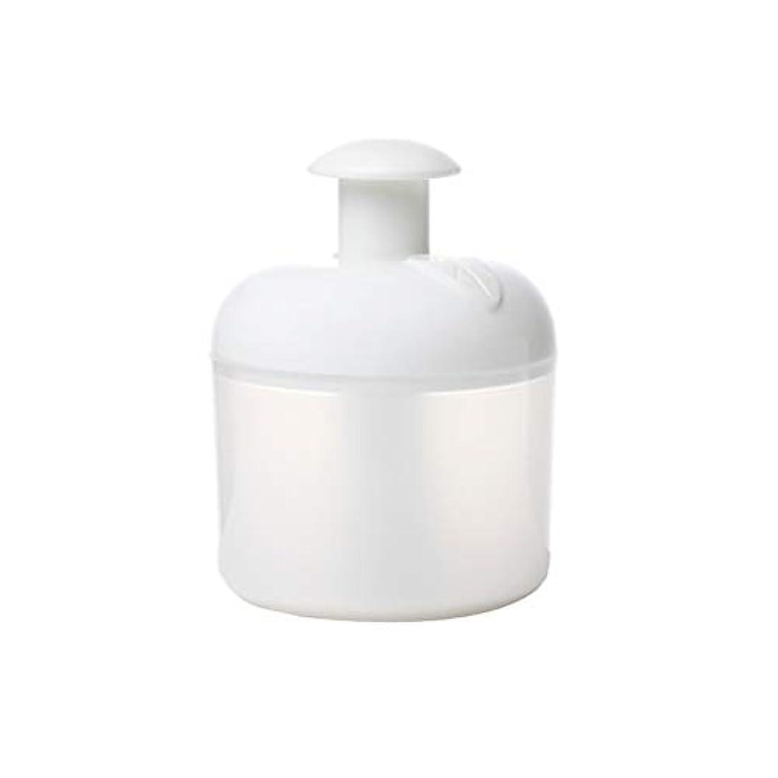 ミトンマリナー征服者Lurrose 洗顔泡立て器フェイスクレンザーバブルメーカー用フェイスウォッシュスキンケアトラベル家庭用(ホワイト)