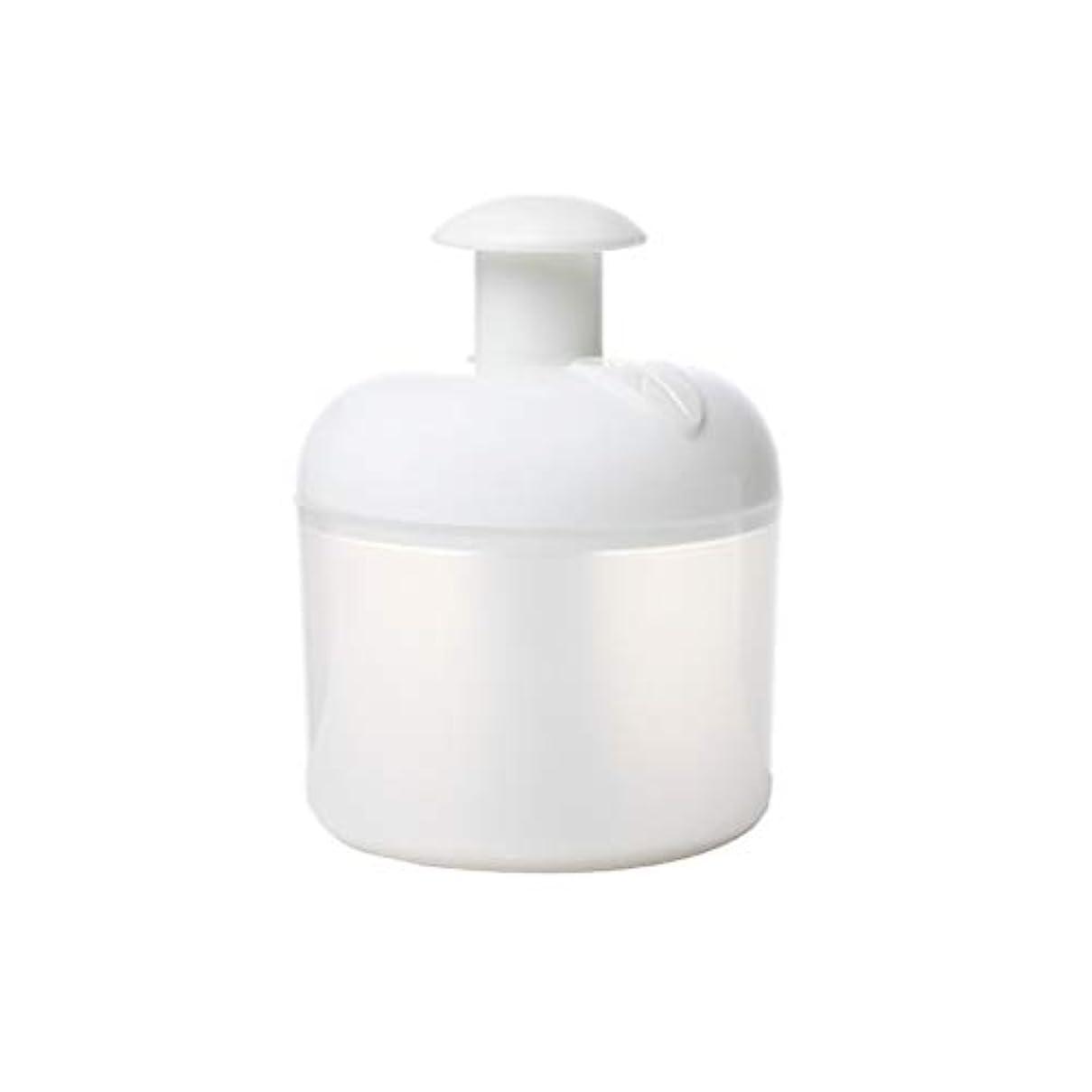 発火する中級パックLurrose 洗顔泡立て器フェイスクレンザーバブルメーカー用フェイスウォッシュスキンケアトラベル家庭用(ホワイト)