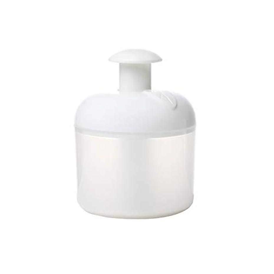 ナイトスポット起訴する袋Lurrose 洗顔泡立て器フェイスクレンザーバブルメーカー用フェイスウォッシュスキンケアトラベル家庭用(ホワイト)