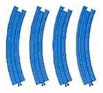 プラレール 複線外側曲線レール( 4本入)R-09
