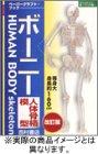 ボーニー 人体骨格模型(ペーパークラフト・ブック)
