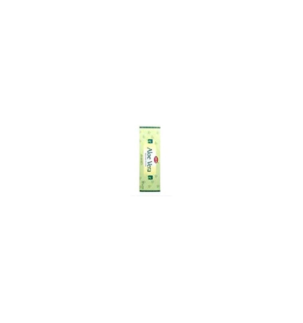 落ち込んでいる以内に淡いHEM(ヘム) スティックお香 六角香 ヘキサパック アロエベラ香 6角(20本入)×1箱 Aloe vera