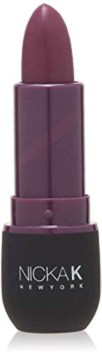 対処日帰り旅行に全体にNICKA K Vivid Matte Lipstick - NMS17 Dark Scarlet (並行輸入品)