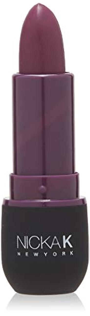 忌避剤外交刈るNICKA K Vivid Matte Lipstick - NMS17 Dark Scarlet (並行輸入品)
