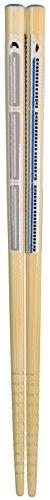 アオバ 箸 食洗機対応 天然竹 乗り物箸 新幹線 18cm 227427...