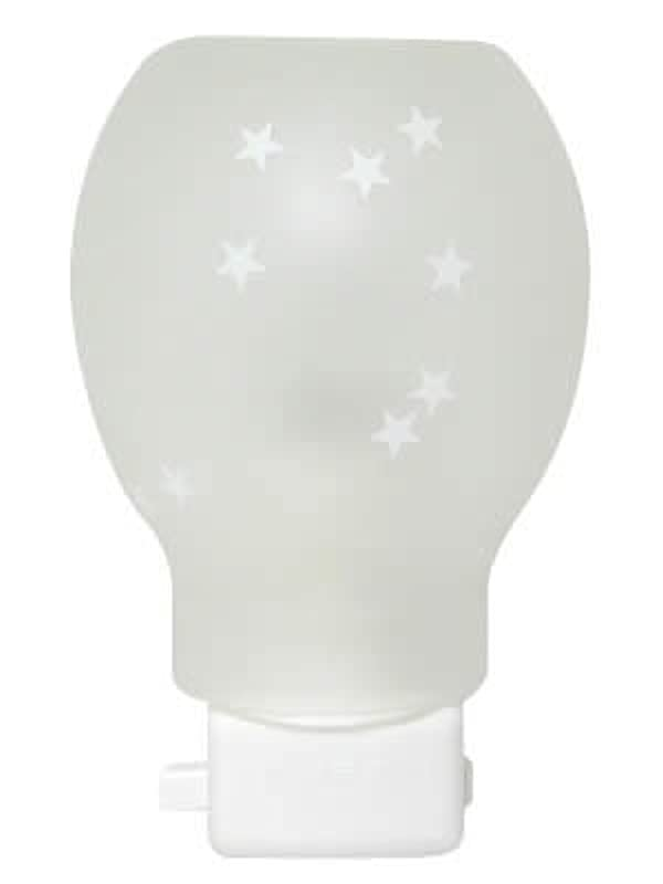 提出する絶え間ないかるガラスライト ホワイトスター
