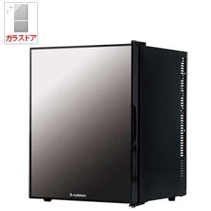 【左右開き対応】 WRH-M140G エスキュービズム 1ドアミラーガラス 冷蔵庫 40L