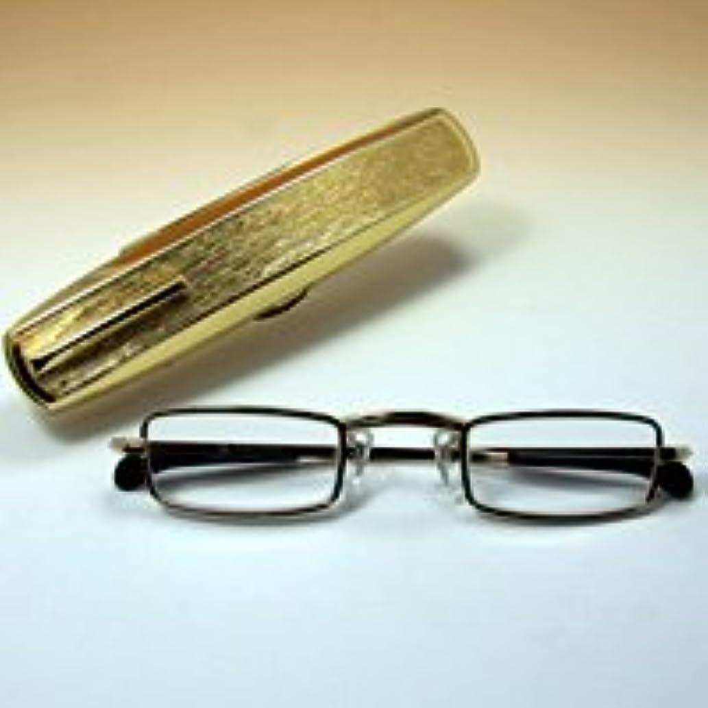子猫排泄する代替おしゃれ 老眼鏡 [シニアグラス] カンダオプティカル スライト ゴールド 強度【※このページは「+2.75」のみの販売です】+2.75
