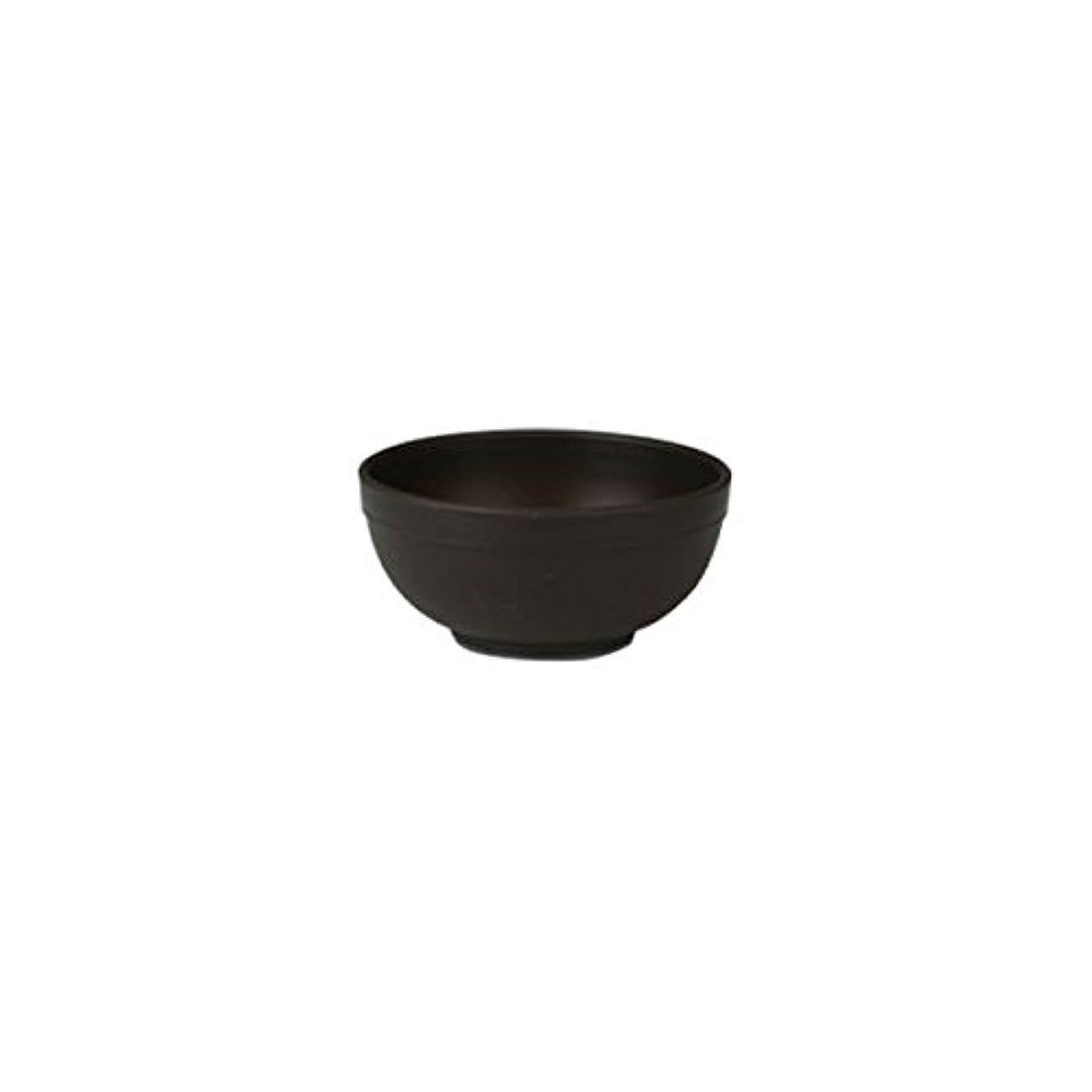 どんよりした圧縮ピューマイスター カラーボウル (Sサイズ) 直径6.5cm ブラウン [ カラーボール プラスチックボウル プラスチックボール カップボウル カップボール エステ サロン プラスチック ボウル カップ 割れない 歯科 ]