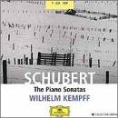 輸入盤 ウィルヘルム・ケンプ独奏 シューベルト : ピアノ・ソナタ全集の商品写真