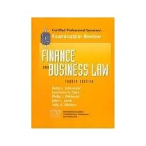 Cps Examination Review for Finance and Business Law