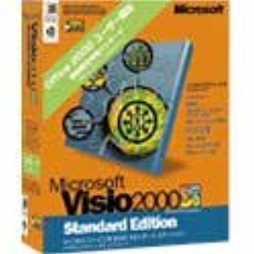 ポットブラインドストレンジャー【旧商品】Microsoft Visio 2000 Standard Edition Office 2000 ユーザー限定 期間限定特別パッケージ
