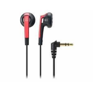 audio-technica イヤホン レッド ATH-C505 RD