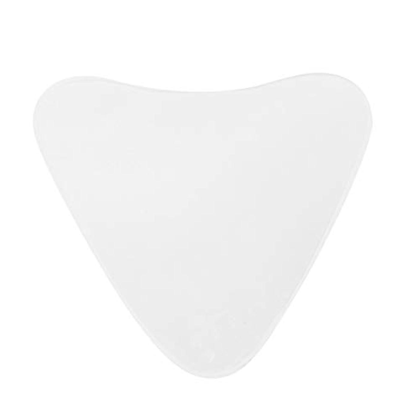 エジプト織る元気Healifty 女性のための三角形のしわ防止胸パッドしわ防止再利用可能なシリコーン胸パッド