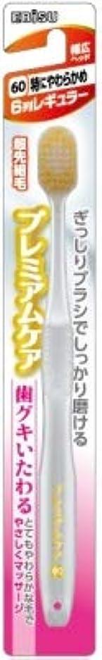 線形悔い改め学校教育【まとめ買い】プレミアムケア歯グキいたわる6列レギュラー ×6個