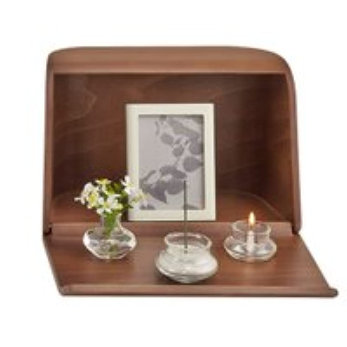 ファイバ公使館お金やさしい時間祈りの手箱ブラウン × 2個セット