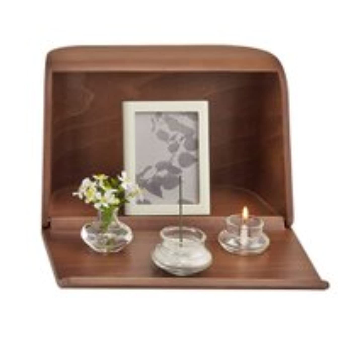 状パースブラックボロウサーマルやさしい時間祈りの手箱ブラウン × 2個セット