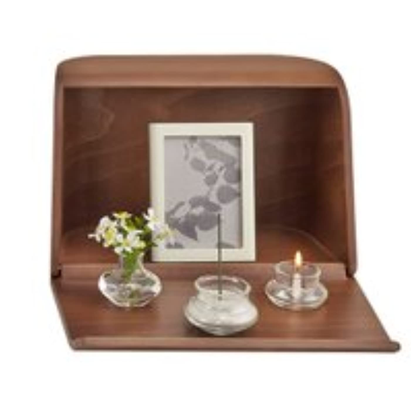 哀れな権限ナラーバーやさしい時間祈りの手箱ブラウン × 2個セット
