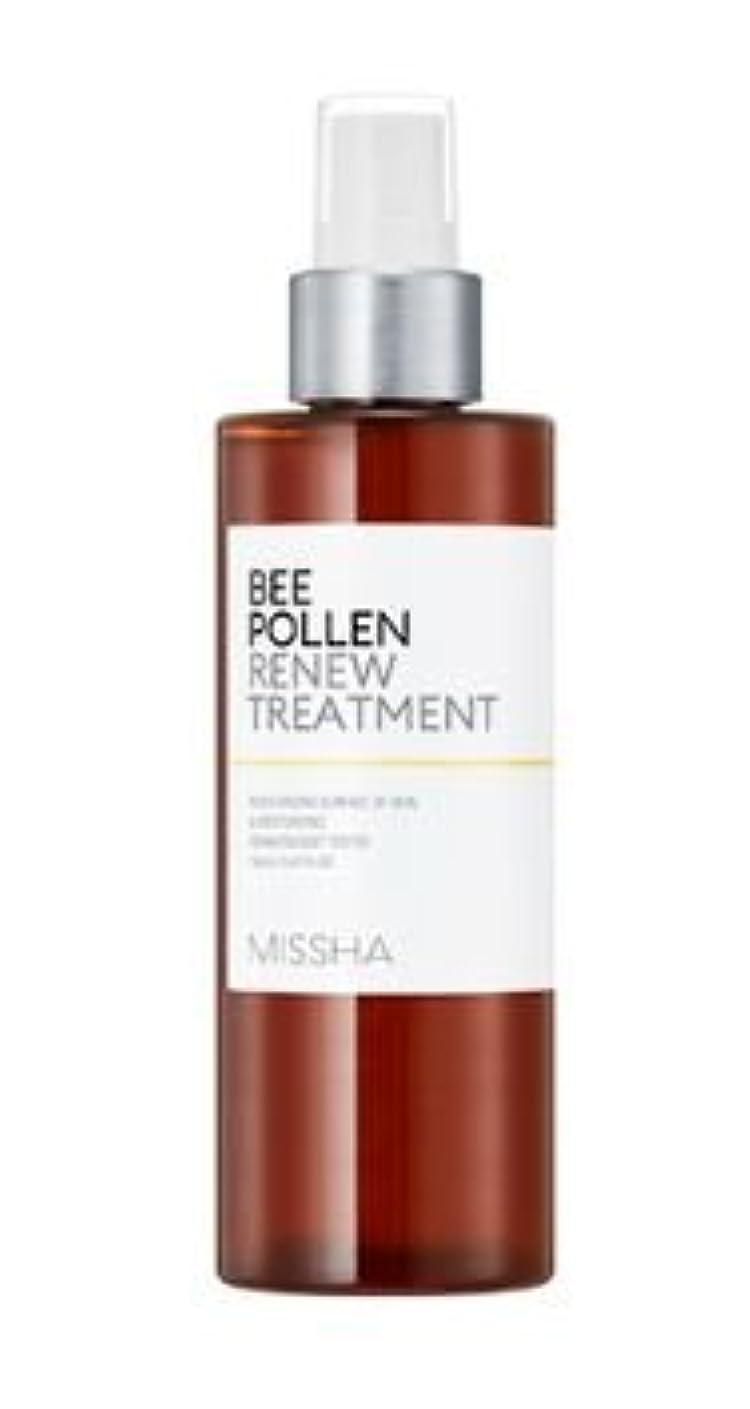 地震妊娠した文[Missha] Bee Pollen Renew Treatment 150ml [ミシャ] ビーポレンリニュートリートメント150ml [並行輸入品]