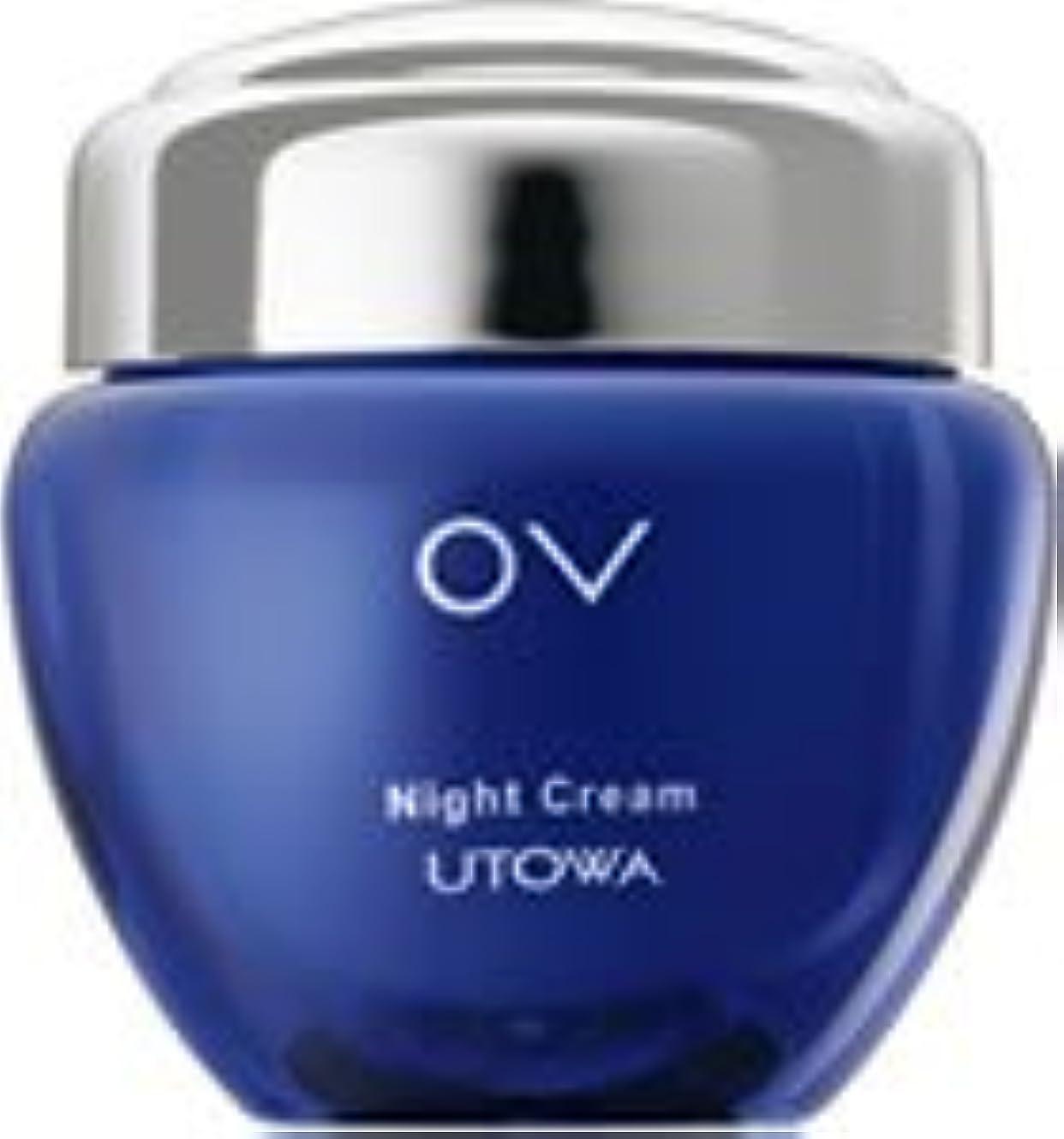 変動する咳地下室UTOWA ウトワ OV ナイトクリーム N (エモリエントクリーム) 30g