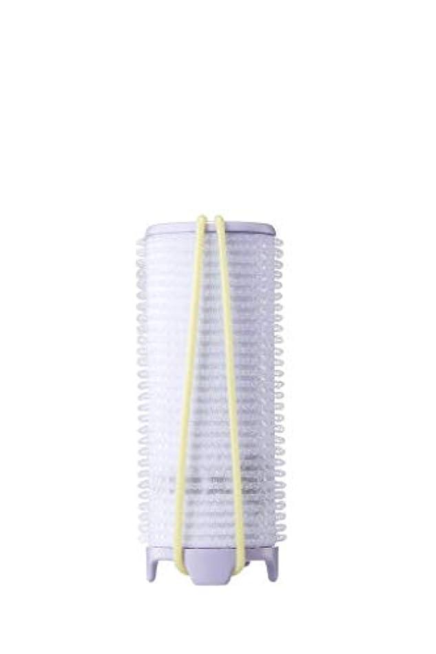 何省略するジョガーUNIX,PW-5321TW ホットカーラー USB 加熱 巻き髪 持ち運び便利 携帯用 旅行 留学 32mm (バイオレット)