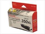 リサイクルインク CANON キャノン BCI-350XLPGBK ブラック大容量 純国産ブランド ReJet/リ・ジェット (ブラック大容量)