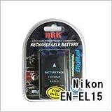 ニコン(NIKON) EN-EL15 デジカメ用互換バッテリー(Y)