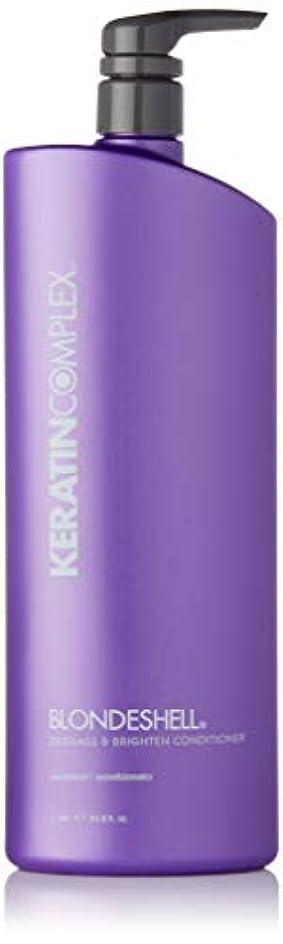 ピストル味イースターケラチンコンプレックス Blondeshell Debrass & Brighten Conditioner (MFR: APR 2014) 1000ml
