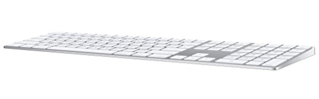 麻痺トランスミッションインデックスApple Magic Keyboard(テンキー付き)- 英語(UK) - シルバー