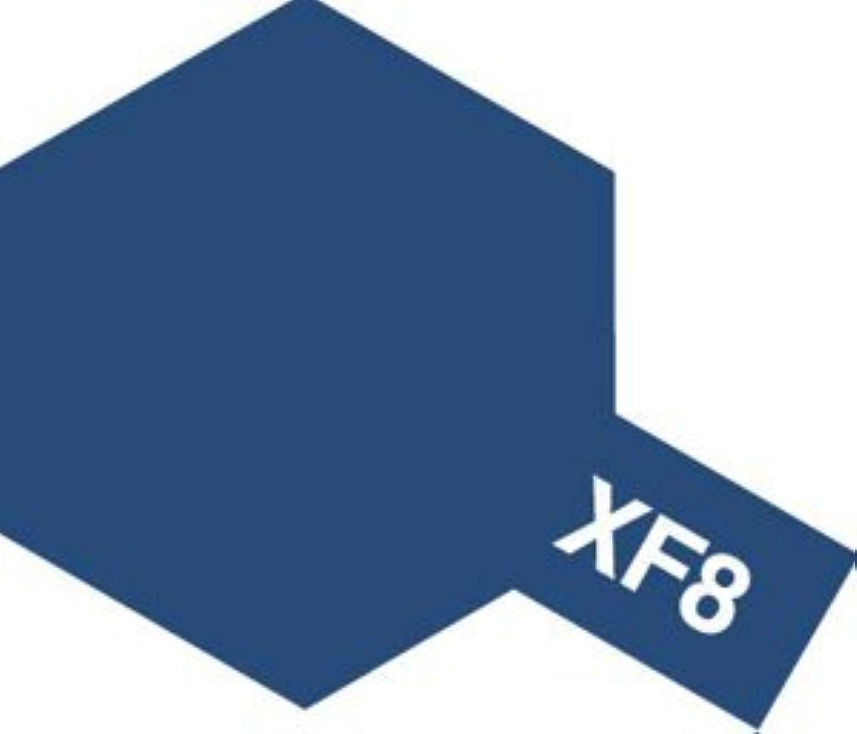 タミヤカラー エナメル塗料 XF8 フラットブルー