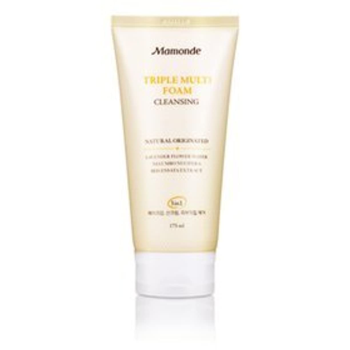ウミウシ覗くうっかりMamonde Triple Multi Foam 3in1 175ml [Korean Import]
