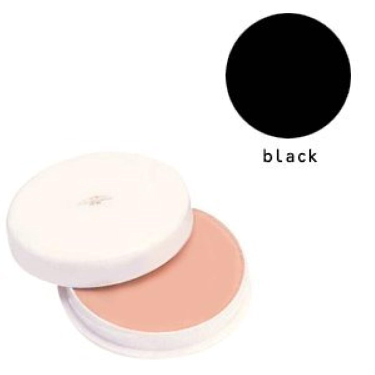 エイズメカニック弾力性のある三善 フェースケーキ ブラック (B)