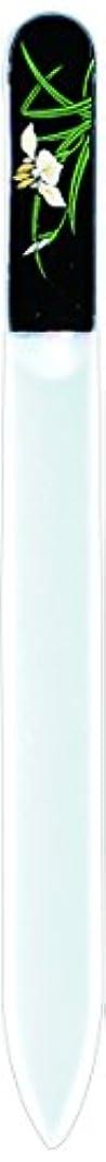 力強いメモマリナー橋本漆芸 ブラジェク製高級爪ヤスリ 五月 菖蒲 OPP