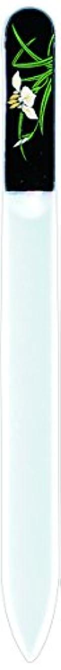 大理石疎外するファンタジー橋本漆芸 ブラジェク製高級爪ヤスリ 五月 菖蒲 OPP