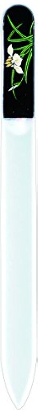 誕生はさみ放射する橋本漆芸 ブラジェク製高級爪ヤスリ 五月 菖蒲 OPP