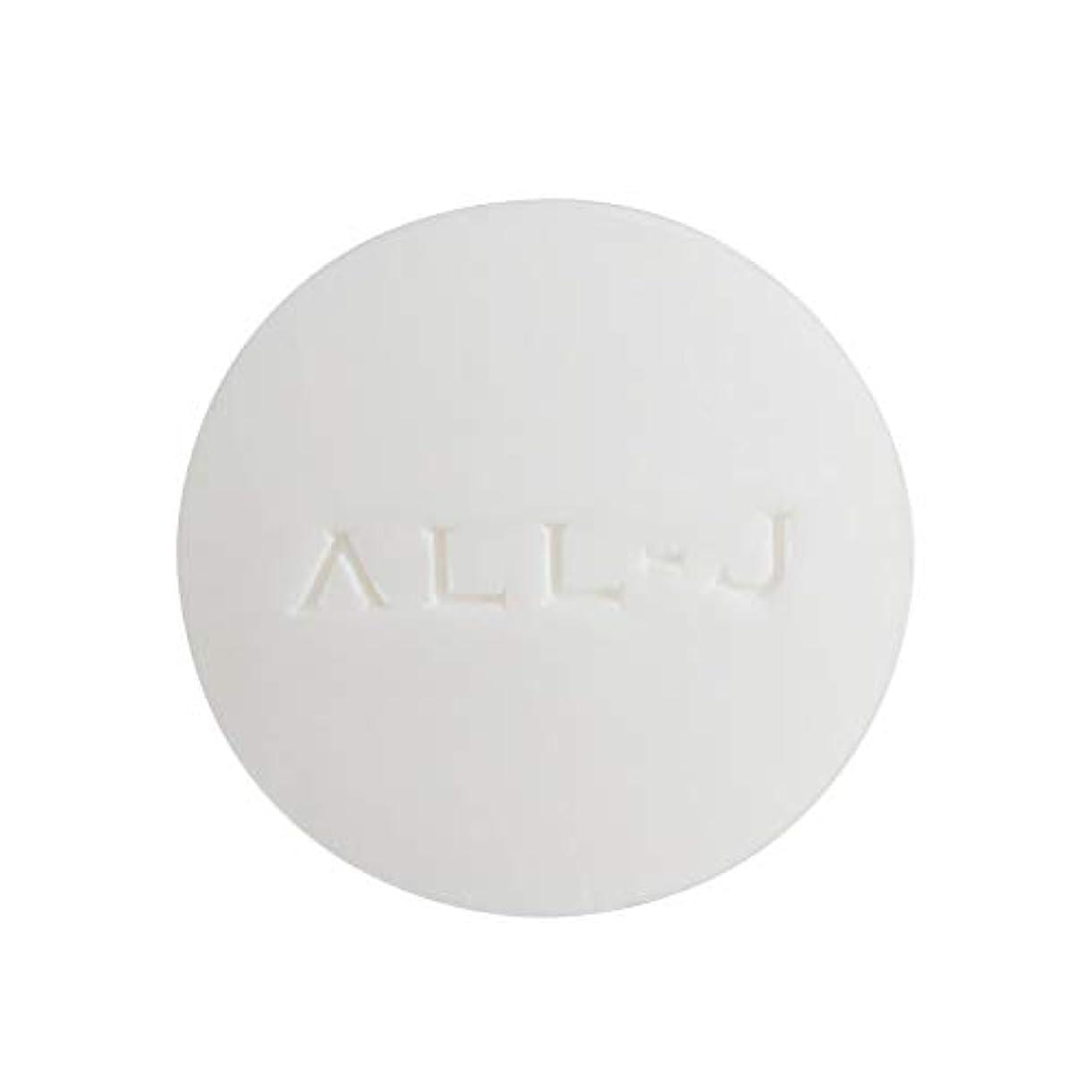 科学者化学薬品流行ALL-J (オールジェイ) 洗顔石鹸 スムースリッチスキン フェイシャルソープ 60g 黒ずみ 毛穴ケア