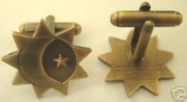 3つのGlory度ゴールドカフリンクセット – LDS Mormon