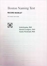 Download Boston Diagnostic Aphasia Examination(25 Booklet Pkg): Record Booklet 0683305638